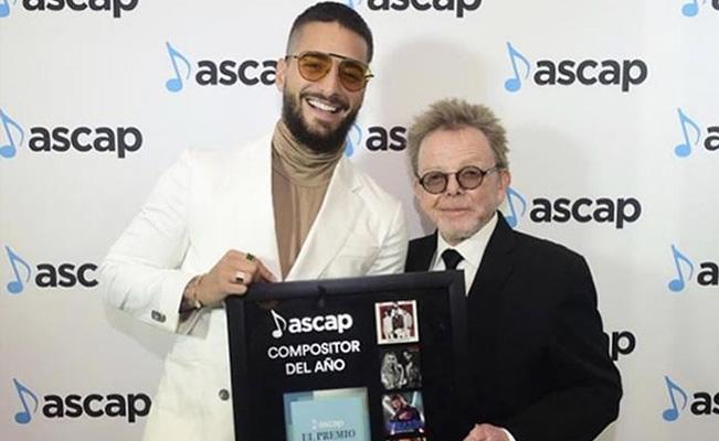 Maluma gana un premio... ¡a compositor del año — Música