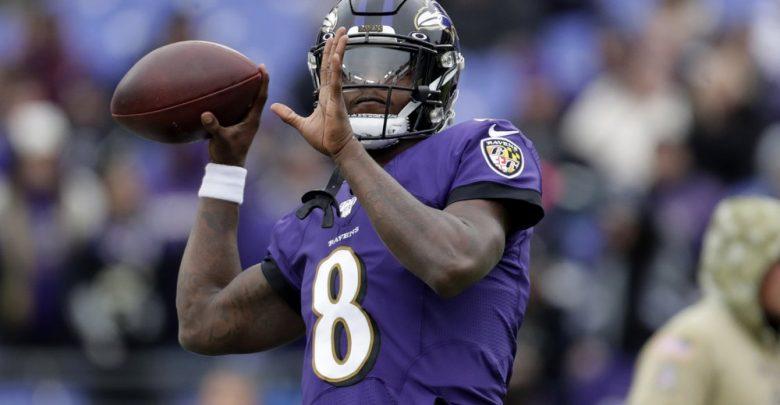 Jackson y los Ravens apalean a los Texans
