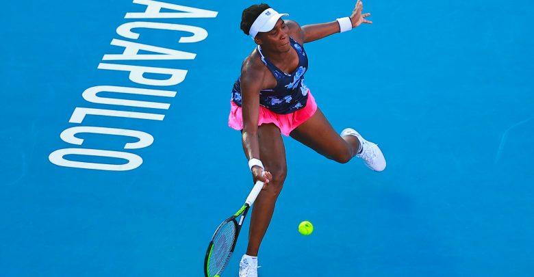 Eliminan a Venus Williams en la primera ronda del Abierto Mexicano