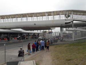Continúa aglomeración en puente Reynosa-Hidalgo