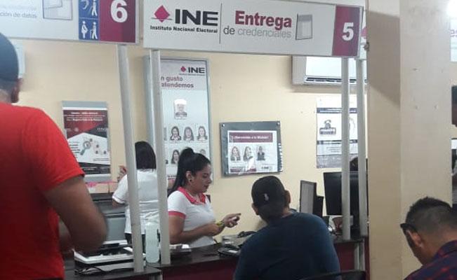 Listos Módulos Para Expedir Credenciales Del Ine En Tamaulipas