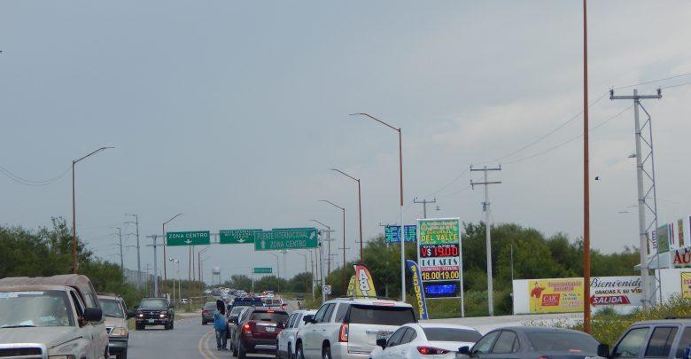 Al tope puentes internacionales en Reynosa